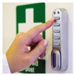 keyless cabinet lock