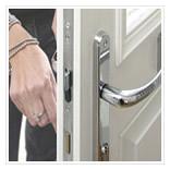 multi point door lock and key