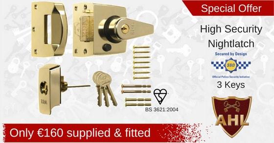 BS high security lock