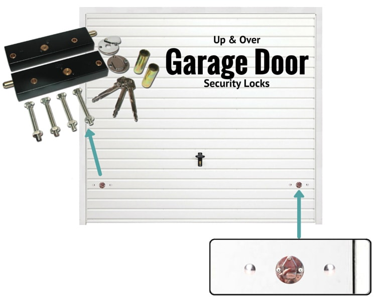 Up & over garage door locks