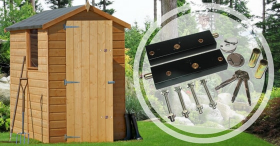 Garden shed locks